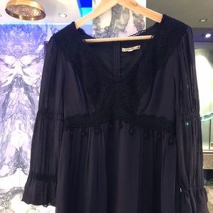 Navy blue Nanette Lepore dress